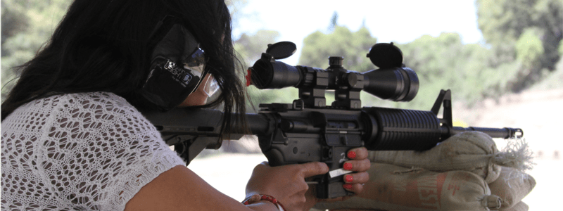 Learning to shoot an AR-15